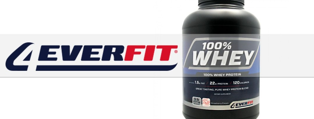We Tested… 100% Whey by 4ever Fit!